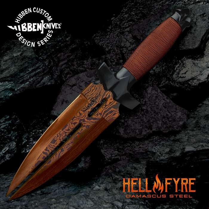 This is a Gil Hibben masterpiece that you absolutely have to add to your collection right now! No ifs, ands or buts!