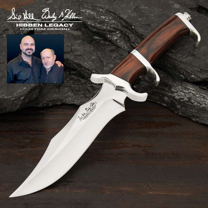 Gil and Wes teamed up to create a priceless collectible series and this is the latest addition to the Hibben Legacy collaboration
