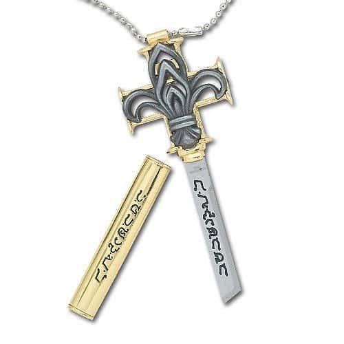 Cross Blade Necklace