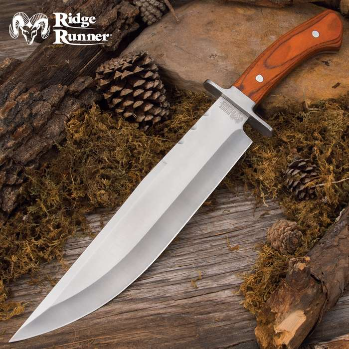 Will make short work of any cutting or chopping task that comes up when you're out on the trail, at the campsite or on the hunt
