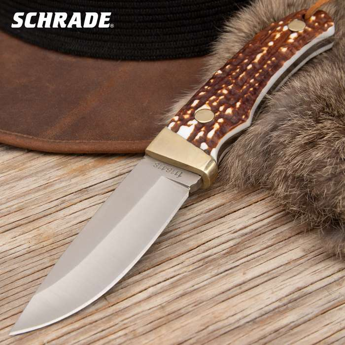 The Schrade Uncle Henry Pro Hunter Knife is tough, practical and not afraid to put in a full day's of hard work for you