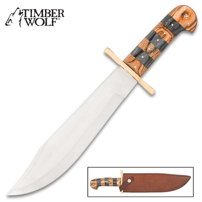 Building on the promise of giving customers exactly what they're looking for, this bowie knife performs - plain and simple