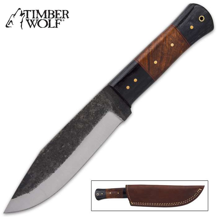 The Timber Wolf Sicilian Knife is a great, all-purpose knife to have at your side when you're going about your outside chores