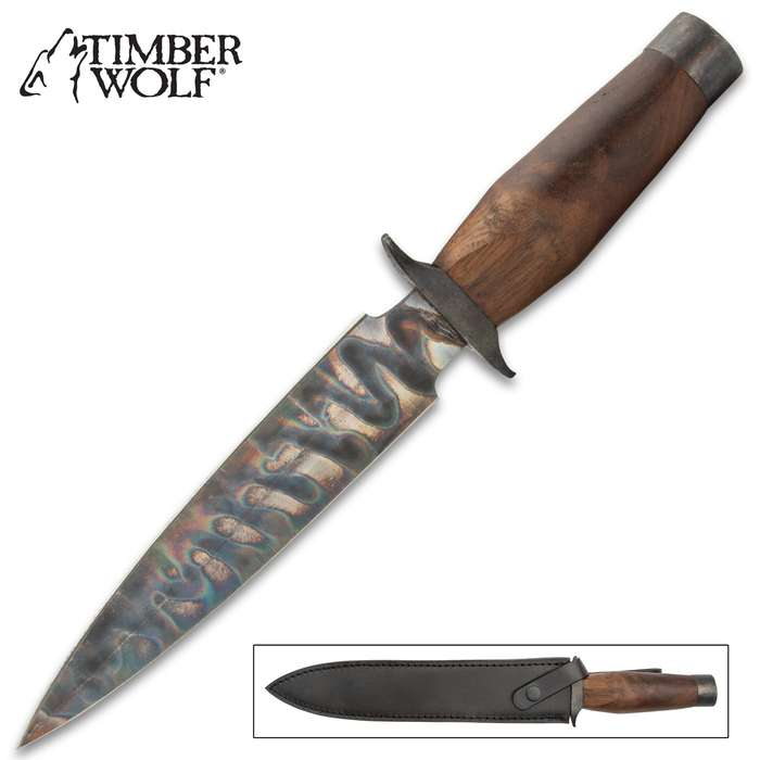 This dagger is striking and eye-catching, but its complete capability guarantees that you can rely on it for countless situations