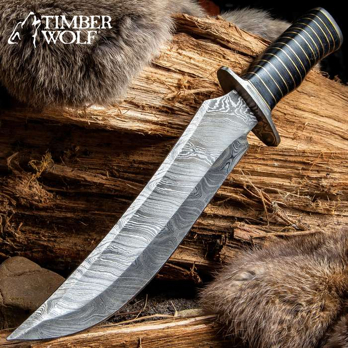 Timber Wolf Nile Warrior Bowie Knife