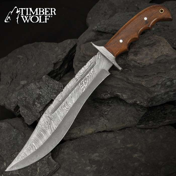 This comfortable in the hand, fixed blade knife will go to the highest mountain peak with you and get you back alive