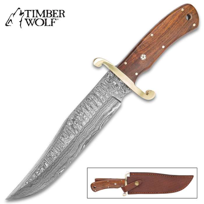 Compact, survival knife that won't take up much space on you're belt when you're out in the woods tromping along that creek bed