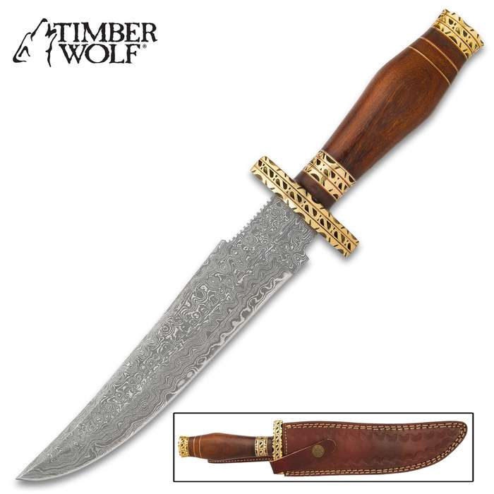 The Timber Wolf Hathor Knife is was inspired by the relics that might be found in an ancient Egyptian temple to the mother of all goddesses, Hathor