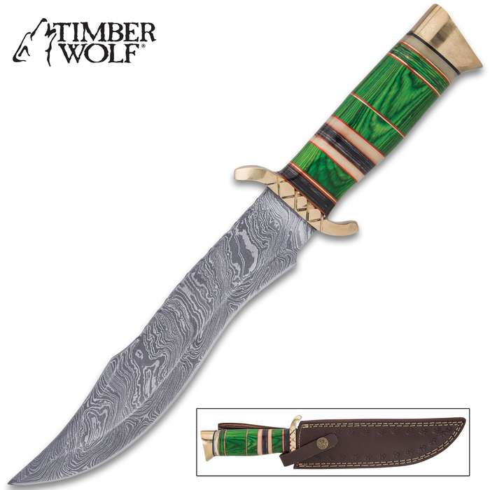 The Timber Wolf Gaelic Warrior Knife is worthy of those fierce men who defended their territory against invasion