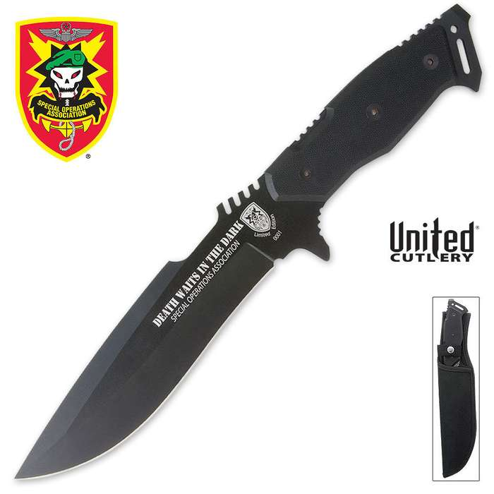 United Cutlery Death Waits in the Dark Knife