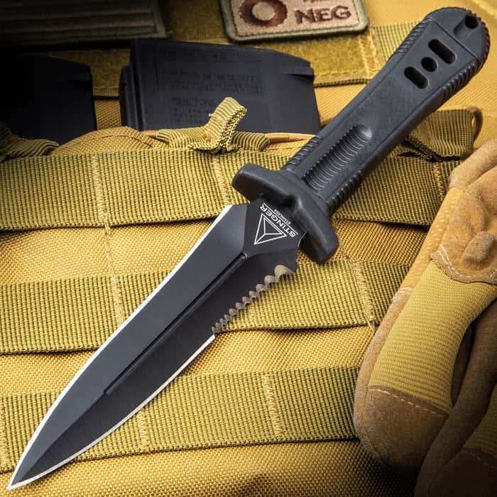 United Cutlery Special Agent Stinger Black Shoulder Harness