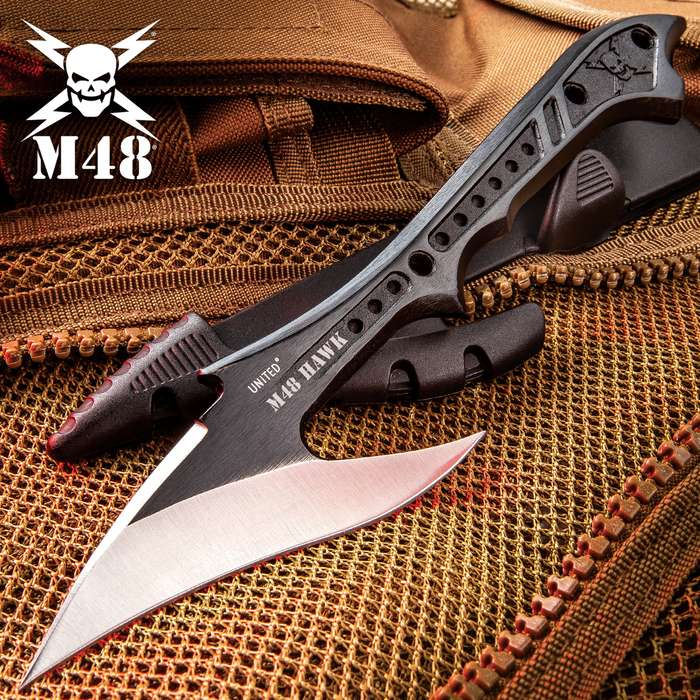 M48 Tactical Harpoon With Molded Locking Sheath