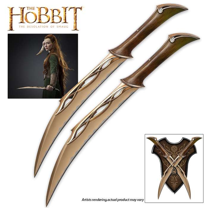 The Hobbit: The Desolation of Smaug- Fighting Knives of Tauriel