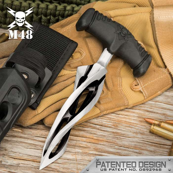 Always ahead of the curve, United Cutlery has taken its popular M48 Cyclone Dagger and taken it to a new level of fierceness
