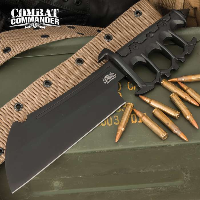 Combat Commander knows all about exceptional real world use weapons and this knife will make an awesome addition to your tactical gear