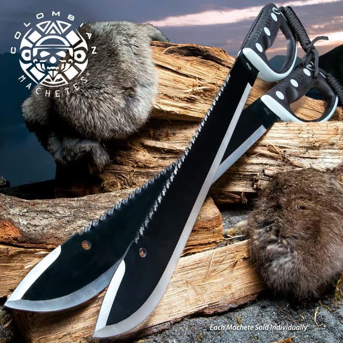 United Cutlery Colombian Machetes®  Sawback Survival Machete