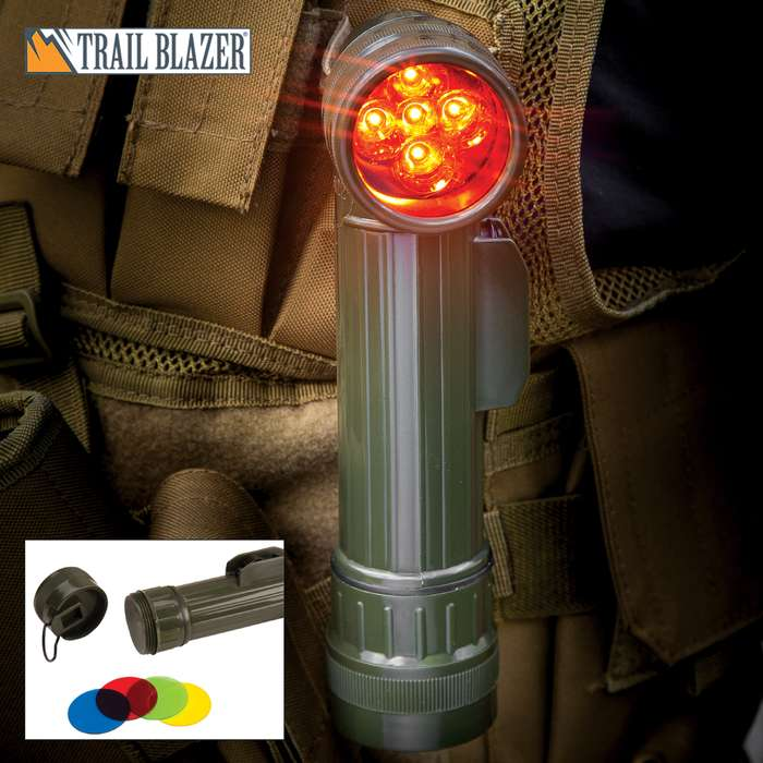 Trailblazer 5 LED Angle Head Flashlight - OD