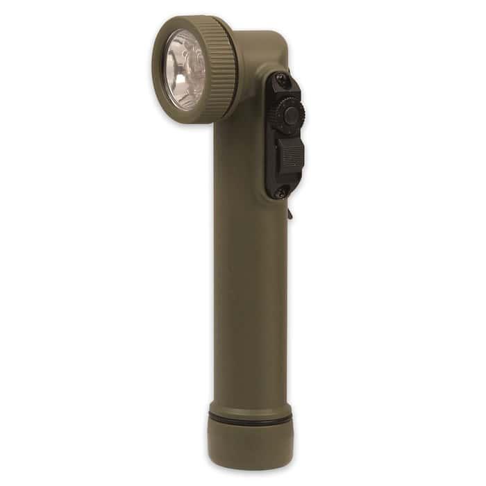 LED Mini Angle Head Flashlight