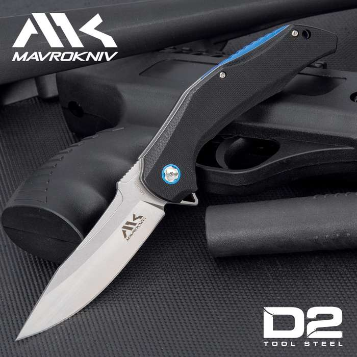 With its cutting edge ball bearing opening mechanism and premium steel blade, this knife is ready for anything