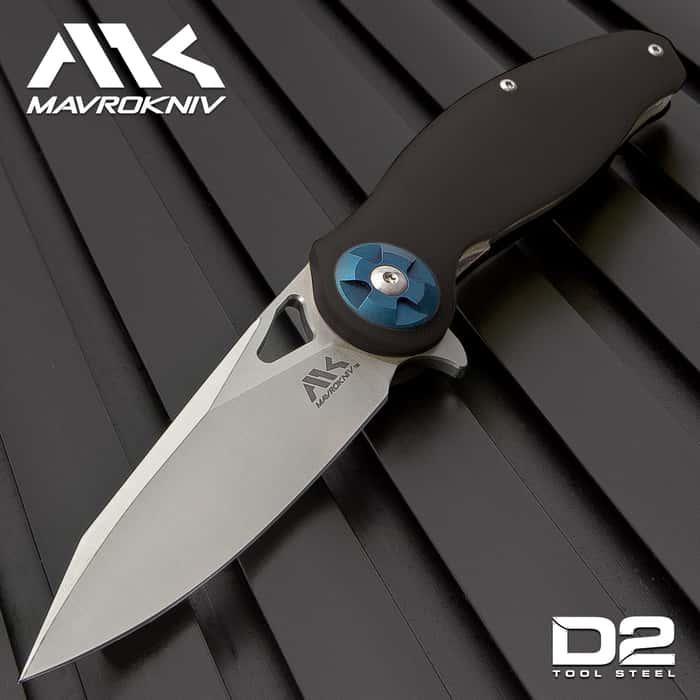 The Mavrokniv Black Spectre Pocket Knife is ready for anything!