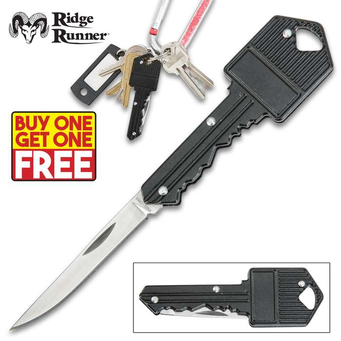 Ridge Runner Key Pocket Knife - BOGO