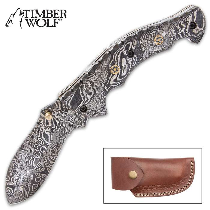 The Timber Wolf Steam Pocket Knife is a brilliant crafting of traditional and futuristic, using premium, tried and true materials