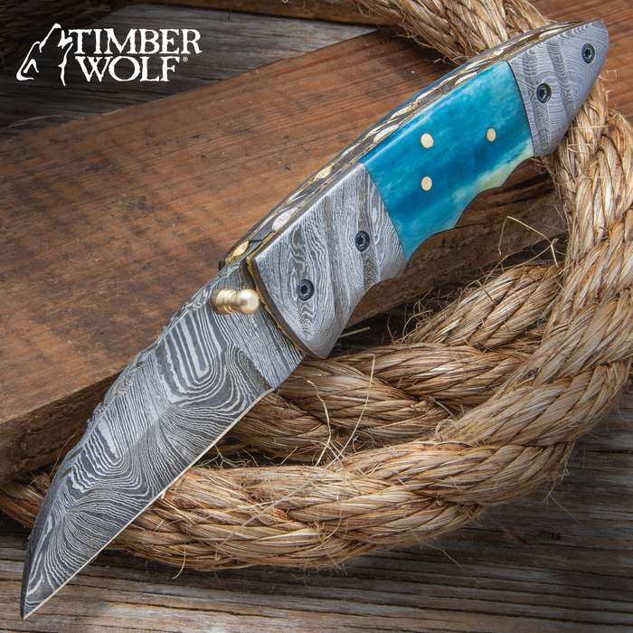 The Imhotep is an ancient Egyptian inspired knife that's opulent from blade tip to bolster with painstakingly crafted details