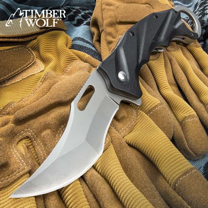 Timber Wolf Tactical Folding Karambit Knife