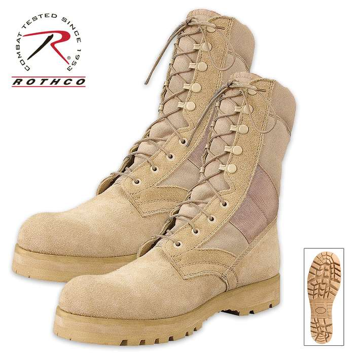 GI Type Sierra Sole Tactical Boots