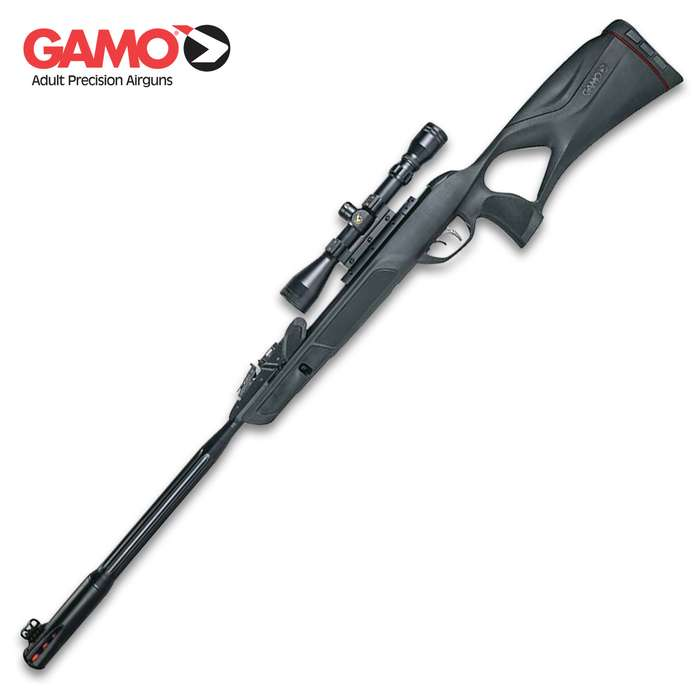 Ideal for hunting and pests, the revolutionary Gamo Swarm Maxxim G2 is the world's only ten-shot break barrel air rifle