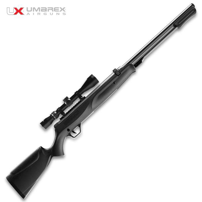 The Umarex Synergis Under Lever Air Rifle blends the classic underlever design with a modern synthetic stock and the new RapidMag cartridge system