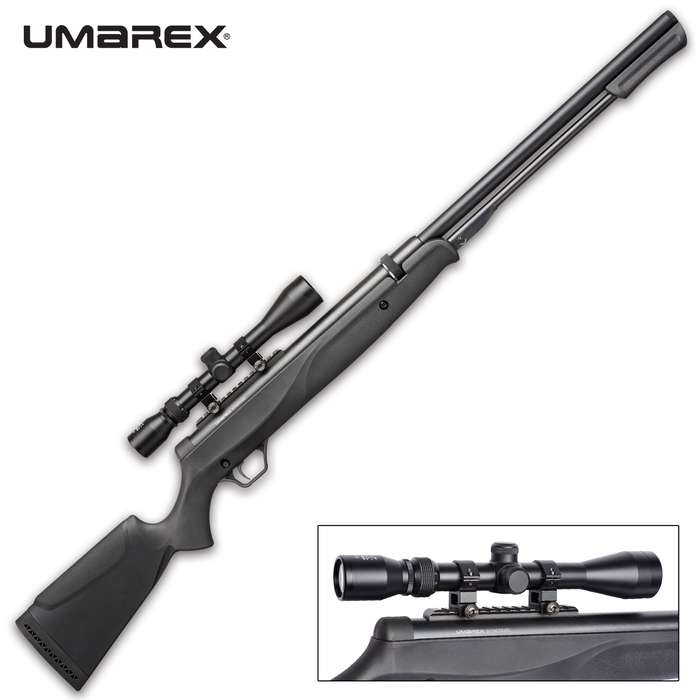 The single shot is no more with the Umarex Synergis Air Rifle, which lets you shoot 10 shots without having to reload