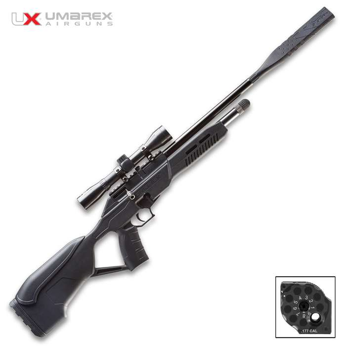 If you value silence while shooting, then you'll love the Umarex Fusion 2 Air Rifle!