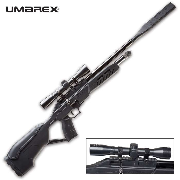 """This air rifle gives new meaning to the word """"incognito"""" with its smooth, bolt action and crisp, single-stage trigger"""