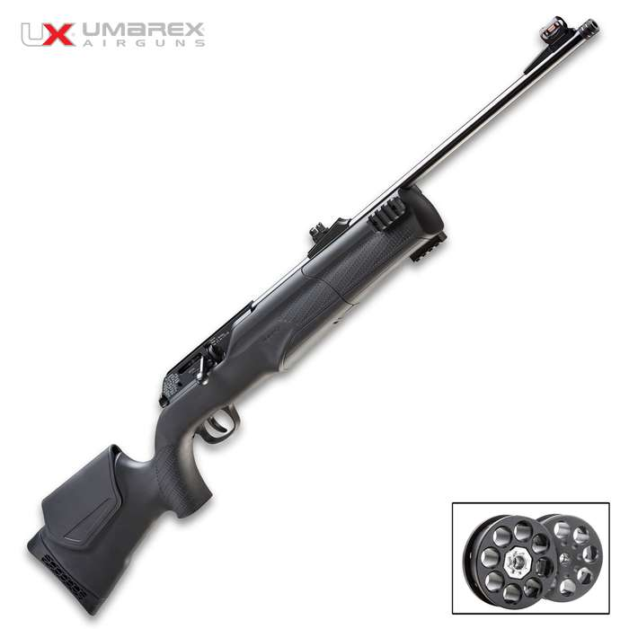 Maintaining the same high quality performance as its predecessor, users can expect tack diving accuracy, smooth operation and rugged reliability from the Umarex 850M2 Air Rifle