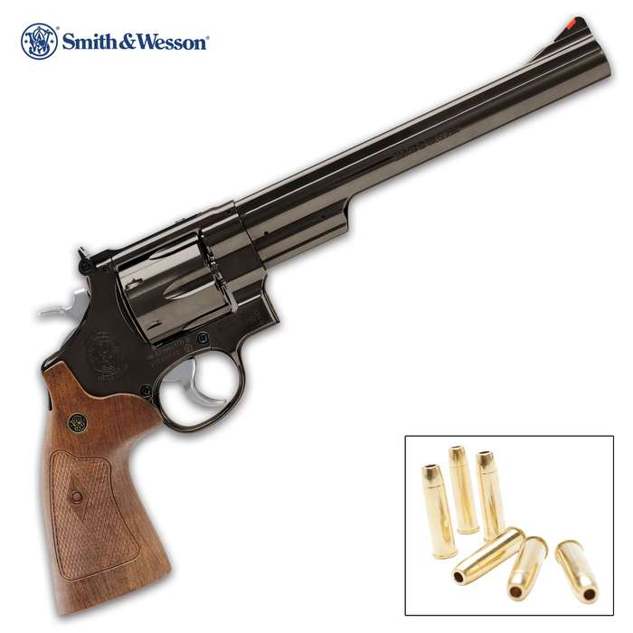 The Smith & Wesson Model 29 BB Revolver is an accurate reproduction of the revolver that Dirty Harry used
