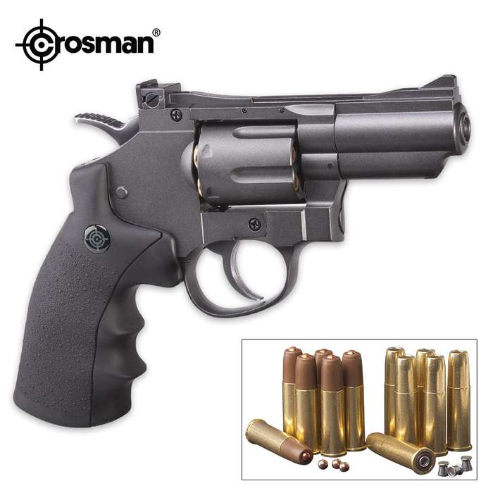 Crosman Dual Ammo Snub Nose Air Revolver