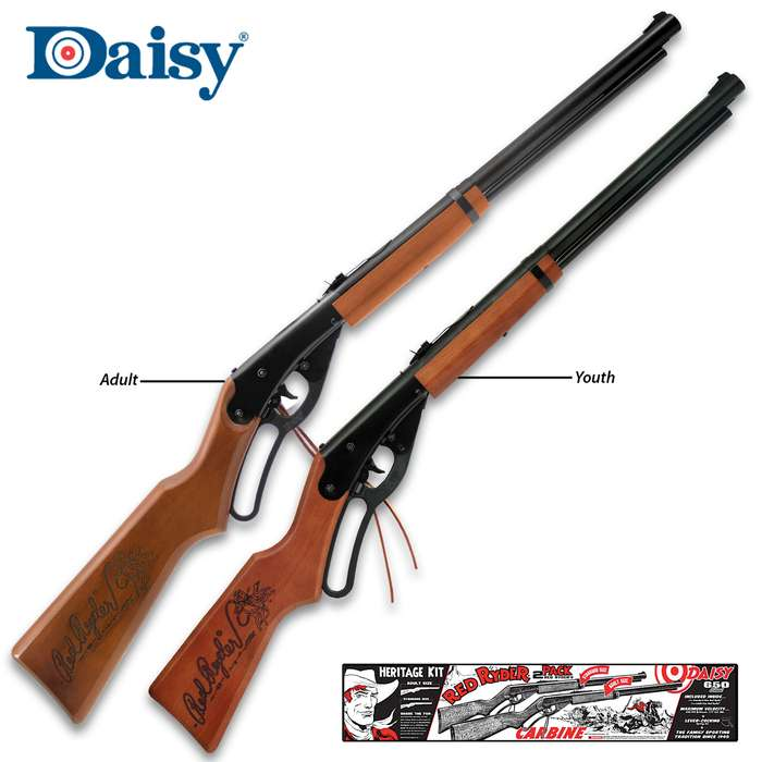 This Daisy Red Ryder Heritage Kit is the perfect Christmas gift for two