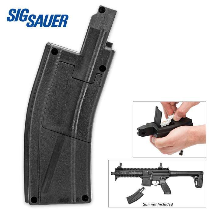 SIG Sauer 30-Pellet Magazine w/ 3 belts for .177 Caliber SIG MPX / MCX CO2 Air Rifles