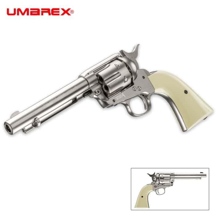 Colt Peacemaker Nickel Air Pistol