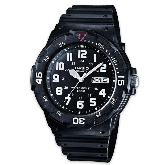 Casio Sport Watch MRW200 Black