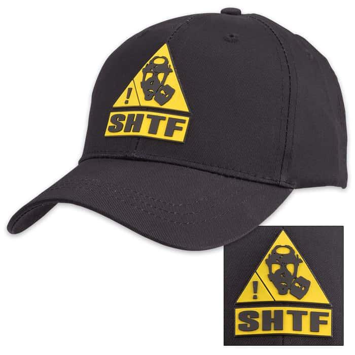 SHTF Black Cap - Hat