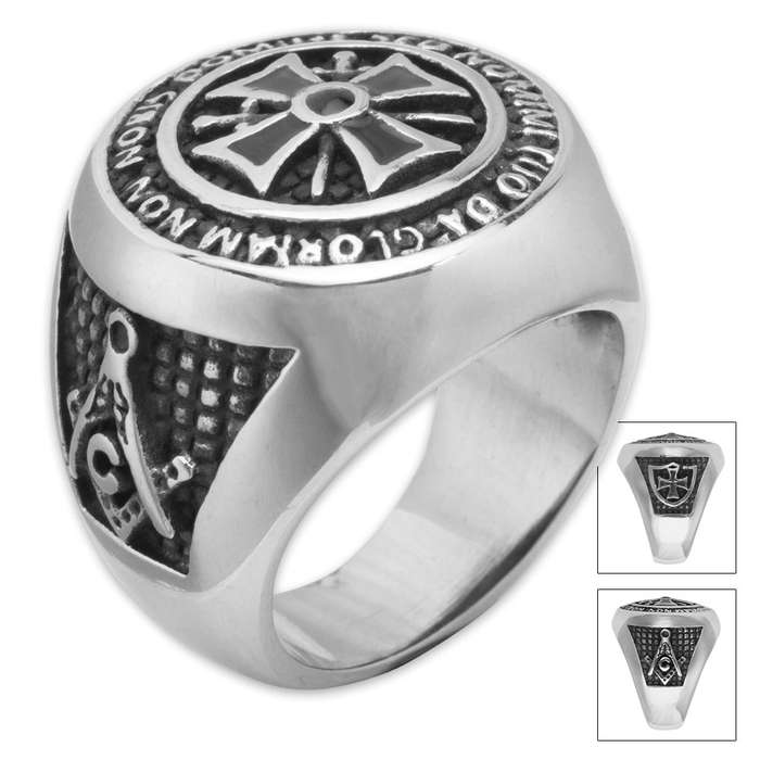 Twisted Roots Mason Ring