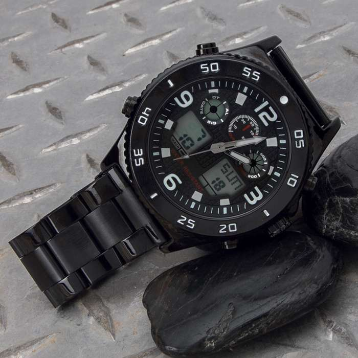 A must-have addition to your everyday wear because it's made to withstand any environment and you can even swim with it
