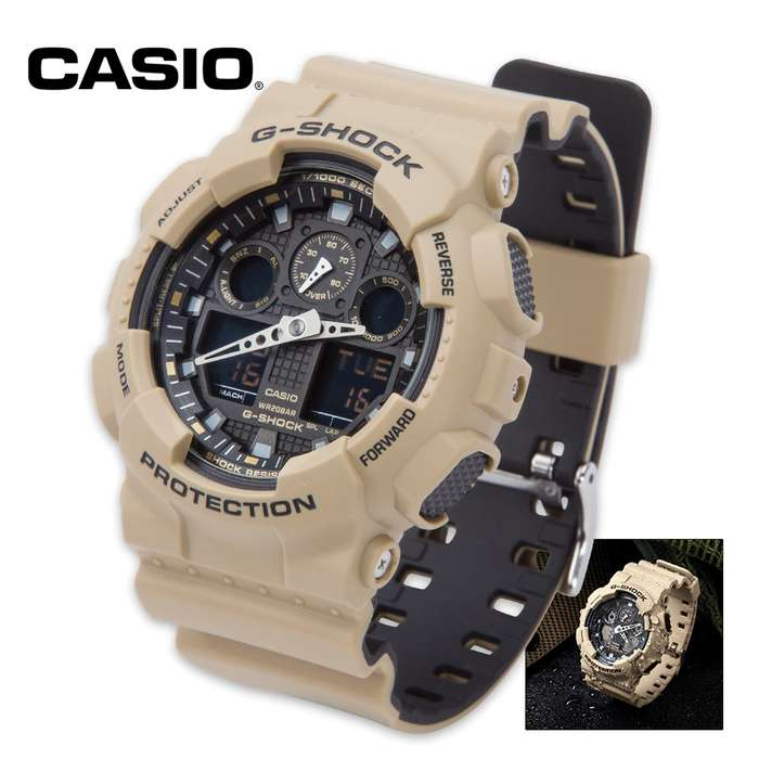 Casio G Shock Military Sand Tactical Watch