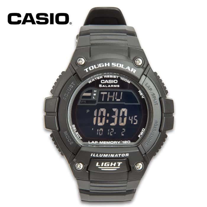 Casio Sport Solar Multi-Function Atomic Watch
