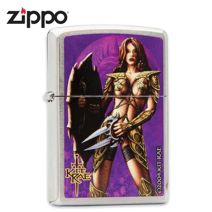 Zippo Kit Rae Atteniel Lighter