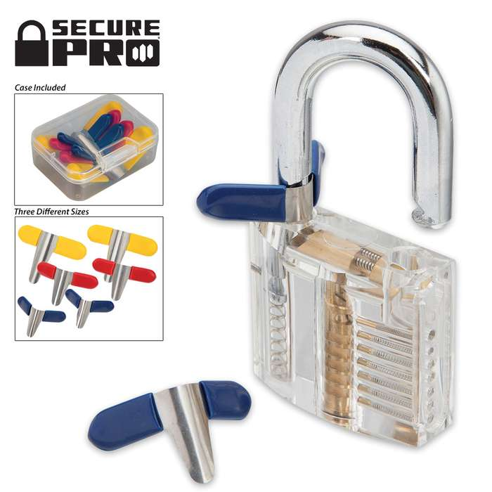 Secure Pro Padlock Shims - Assorted Sizes