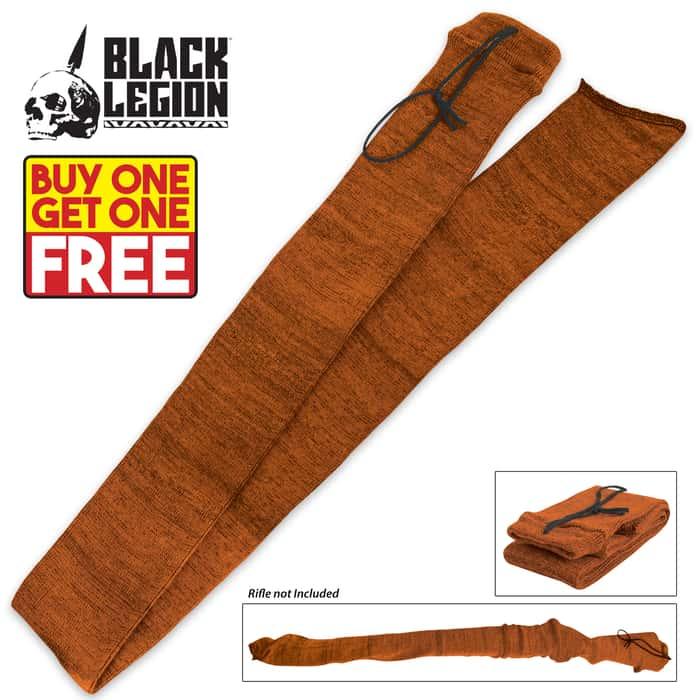 Black Legion Shotgun Sock - Orange - BOGO