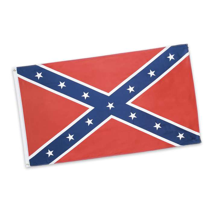Confederate Rebel Battle Flag - 3' x 5'